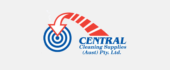Central Cleaning Supplies Logo Long