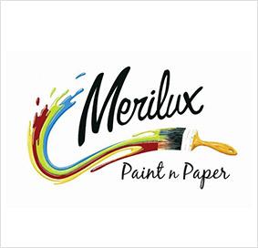 Merilux Paint n Paper Logo